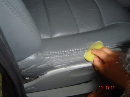 limpeza bancos de carro