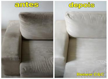 limpeza de sofá e estofados